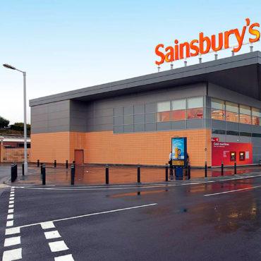 SAINSBURY – EDINBURGH, ABERDEEN, HARROGATE, SLEAFORD IN UK