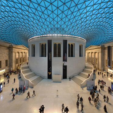 BRITISH MUSEUM, GREAT COURT – LONDON