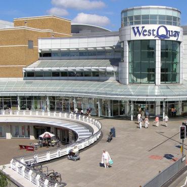 WEST QUAY SHOPPING CENTRE – SOUTHAMPTON, UK