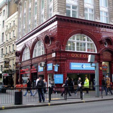Oxford Circus tube station- UK